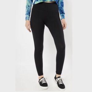 RUE21 Black High Waisted Super Soft Leggings